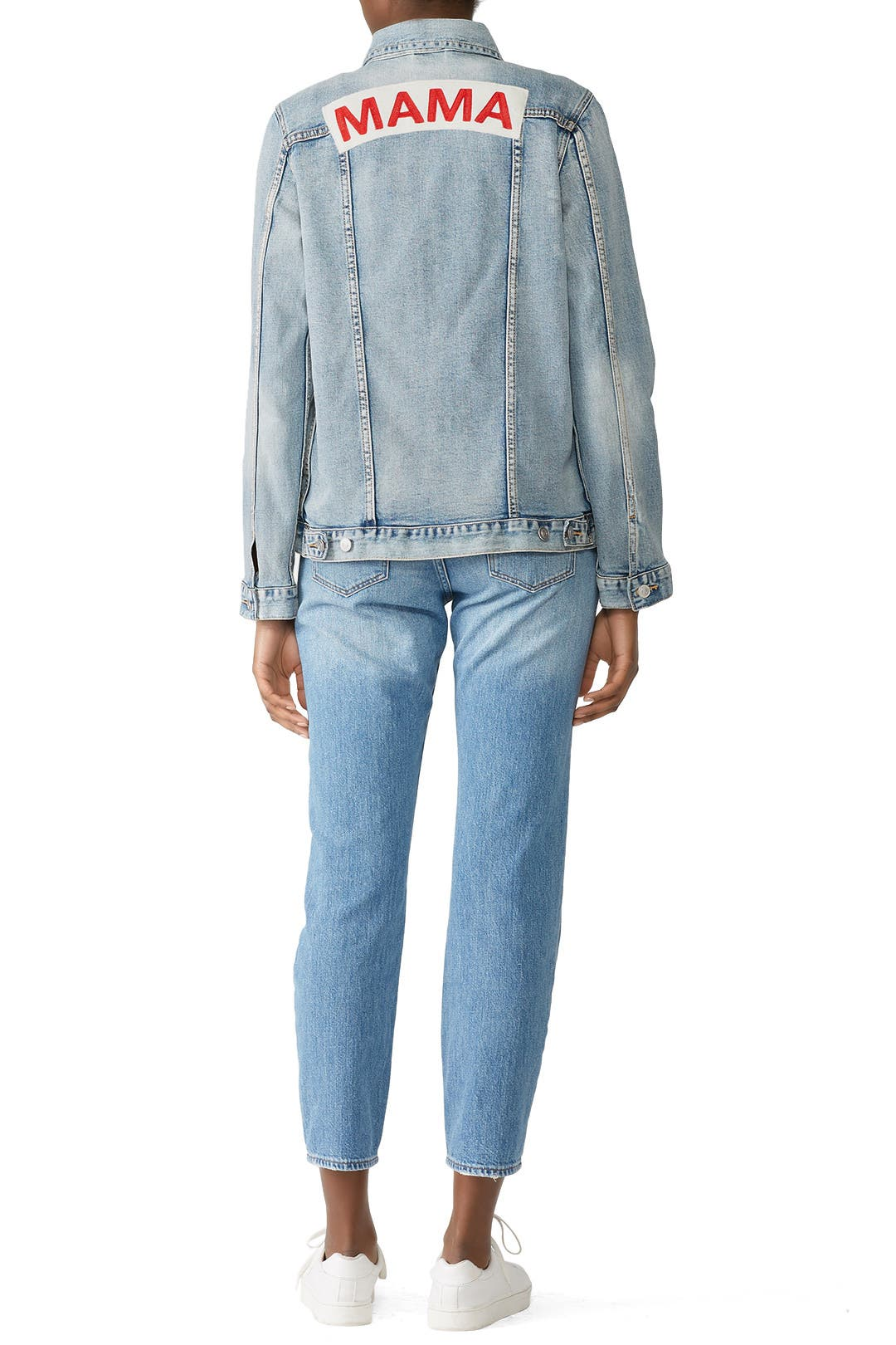 1379e1343abe3 Mama Maternity Denim Jacket by Ingrid & Isabel for $30 | Rent the Runway