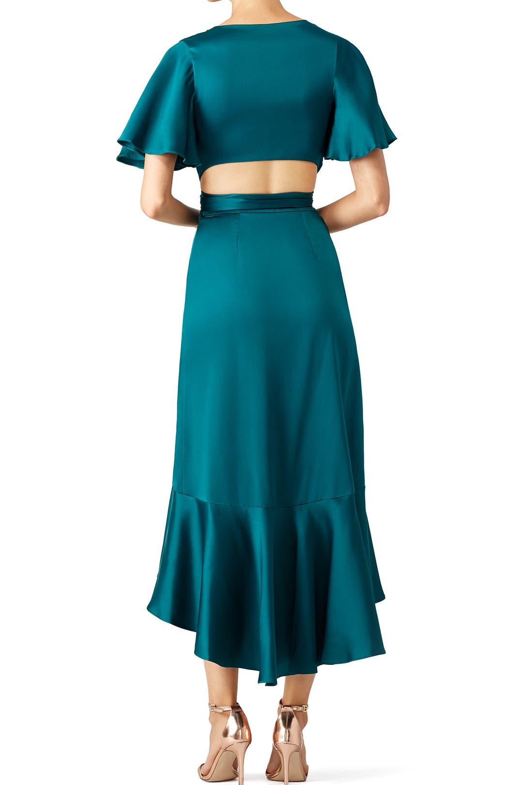 0544d1fcc75f Emerald Parrot Wrap Dress by Temperley London for $240 | Rent the Runway