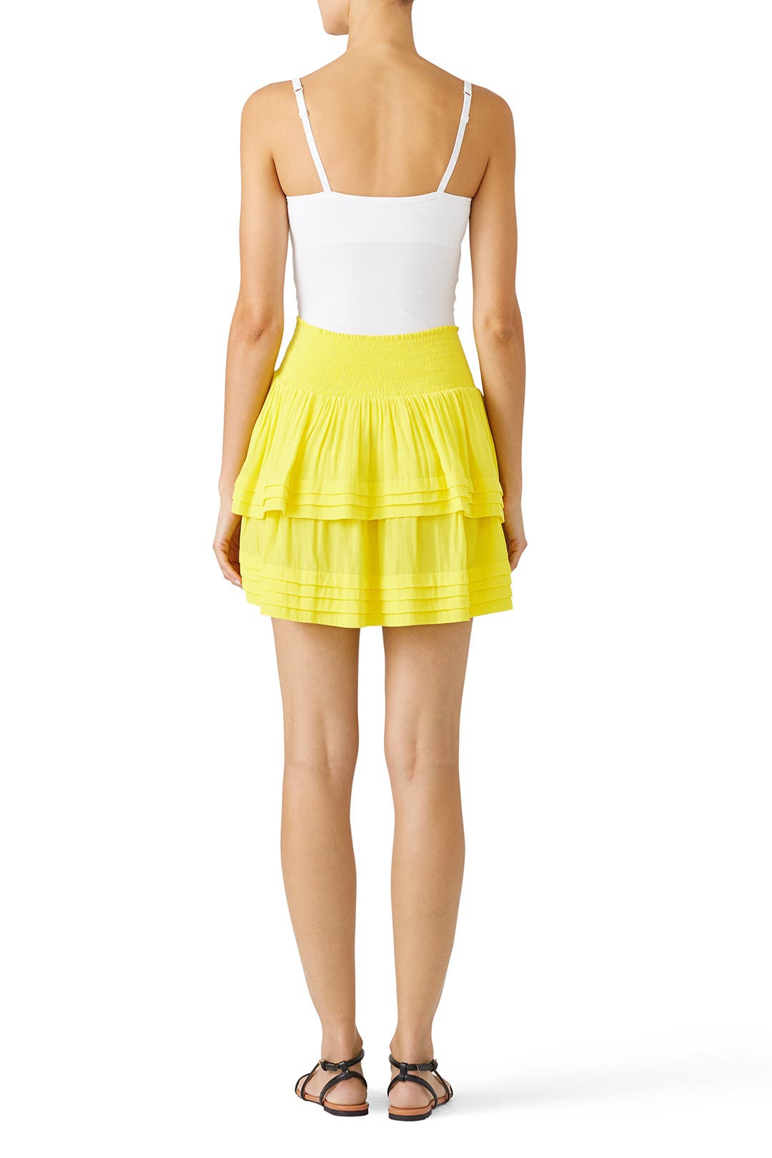 77349b533bc5e Yellow Lilo Skirt by Ramy Brook for $50 | Rent the Runway