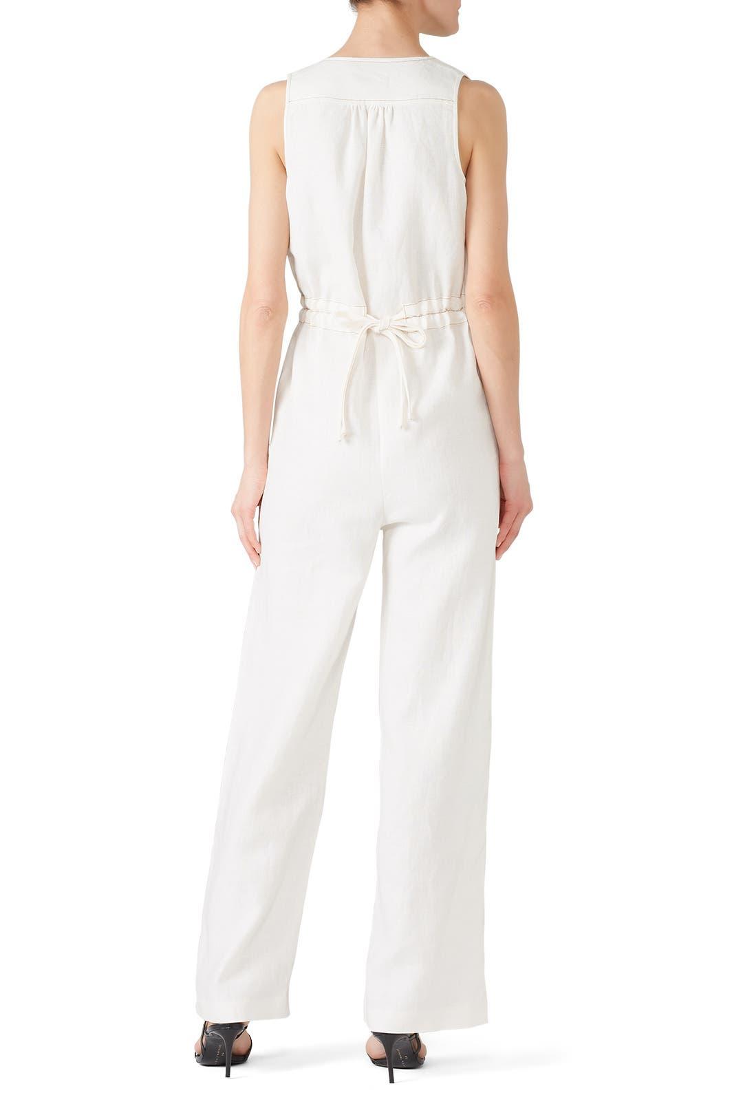 3623dfe9ca9 Linen Button Jumpsuit by Nicholas for  100
