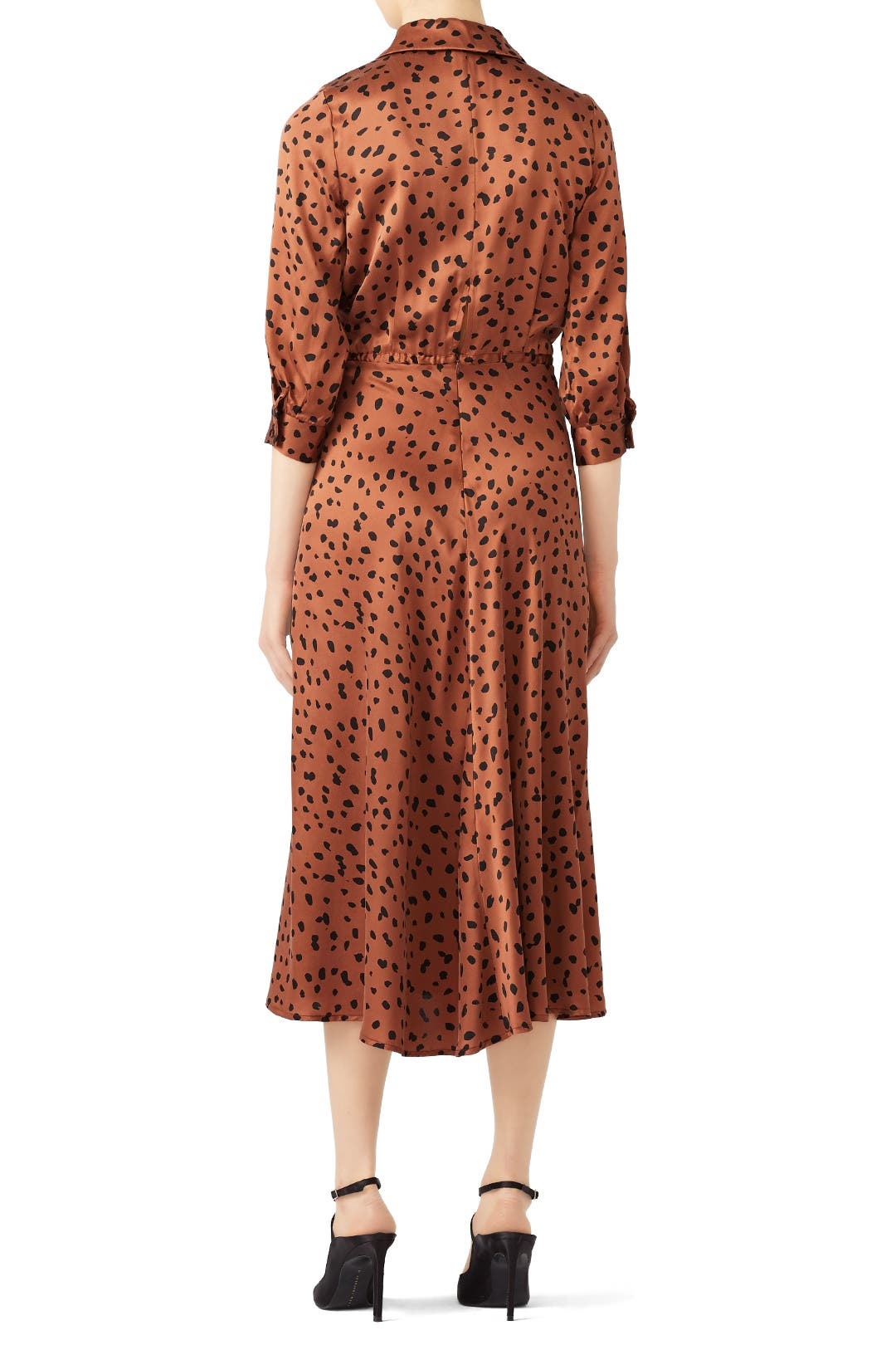 9725062636a8 Bec & Bridge Conga Beat Printed Silk Midi Dress Cheetah - Summer -Womens  Clothing .