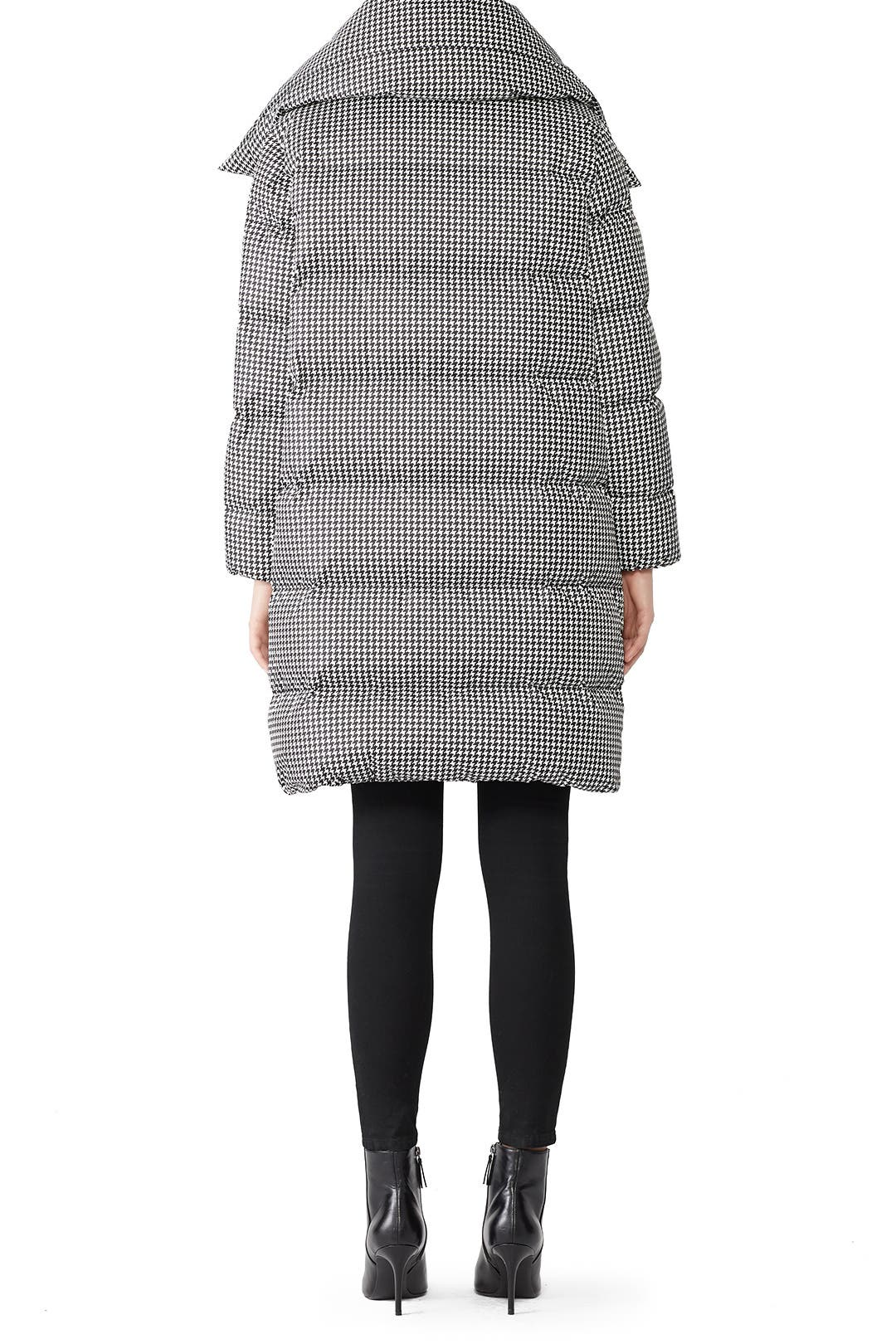 549cb4e219b Houndstooth Big Puffa Jacket by Bacon for $170 | Rent the Runway