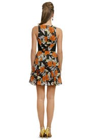 Hibiscus Flippy Dress by Proenza Schouler