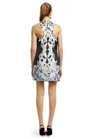Rocco Mini Shift Dress by Tibi