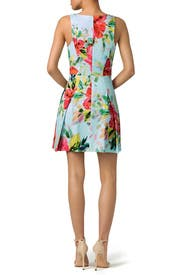 Aniya Floral Dress by Trina Turk