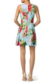 Aniya Floral Dress by Trina Turk