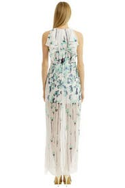 Breeze Ruffle Maxi by BCBGMAXAZRIA