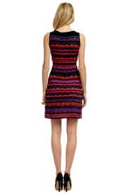 Neon Wave Lightshow Dress by M Missoni