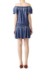 Blue Tammy Dress by Parker