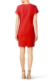 Red Britta Dress by Shoshanna