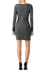 Leather Line Speckled Dress by Bailey 44