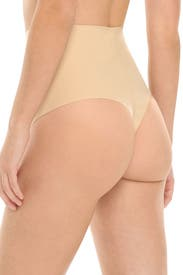 Nude High-Waist Control Thong by Commando