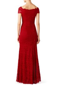 Red Tempted By You Gown by Nicole Miller