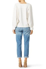 Off White Peasant Top by See by Chloe