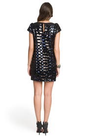 Sienna Sequin Stripe Dress by Milly