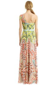 Inga Abstract Maxi by BCBGMAXAZRIA