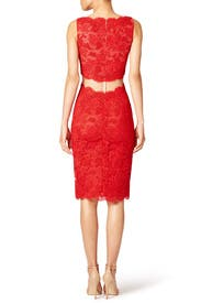 Red Keira Sheath by Reem Acra