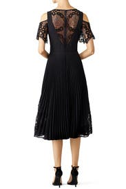 Black Scallop Dress by Nicole Miller for $65 - $85  Rent the Runway