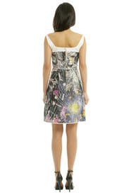 Smashed Jewel Cotton Dress by Giles