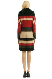 Taj Stripe Wool Windsor Coat by rag & bone