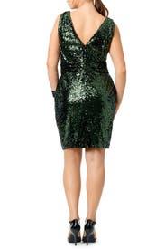 Sequin Garden Dress by Badgley Mischka for 30 Rent the Runway