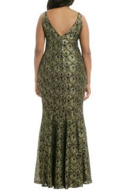 Goldify Yourself Gown by Carmen Marc Valvo