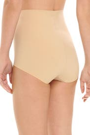 Nude High-Waist Control Brief by Commando