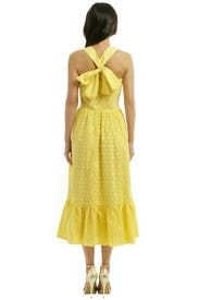 Let the Sun Shine Dress by MSGM