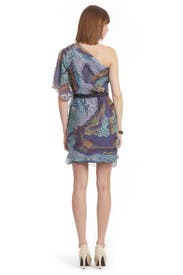 Mosaic Caftan Dress by Mark & James by Badgley Mischka