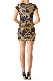 Gold Leaf Sheath by Dress The Population