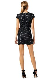 Cap Sleeve Swirl Mini by Robert Rodriguez Collection