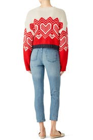 I Heart You Sweater by Free People