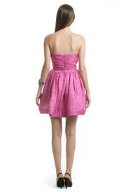 Pink Digital Skirt Dress by Shoshanna