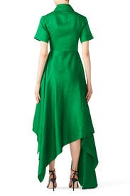 Green Mia Dress by Solace London