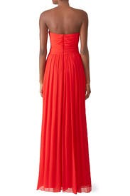 Faye Chiffon Gown by Badgley Mischka
