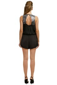 Hypnotized by You Romper by Rebecca Taylor