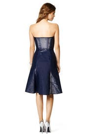 Glisten in Blue Dress by Calvin Klein Collection