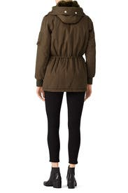Army Green Parka by The Kooples for $130 | Rent the Runway