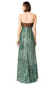 Emerald Rush Gown by Badgley Mischka