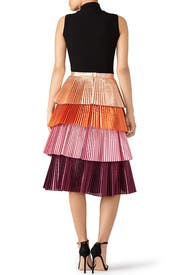 Pink Lauren Skirt by DELFI Collective