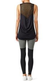 Heather Black Shadow Legging by MICHI