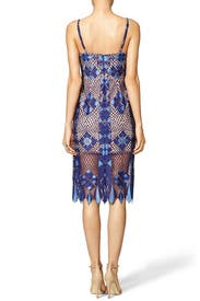 Alese Geometric Lace Dress by BCBGMAXAZRIA
