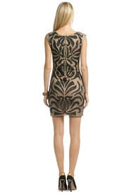 Masquerade Mambo Sheath by Mark & James by Badgley Mischka