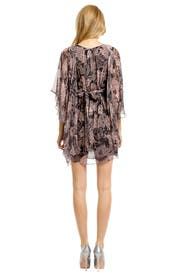 Lady Kimono Chiffon Dress by Matthew Williamson