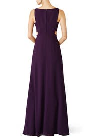 Elderberry Side Cut Out Gown by Jill Jill Stuart