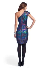Galaxy Tweed Dress by Lela Rose