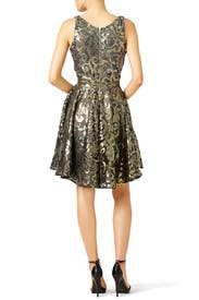 Gold Marilyn Dress by allison parris