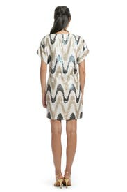 Zig Zag Sequin Shift by Trina Turk