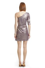 Metallic Filcoupe Shimmer Dress by Shoshanna