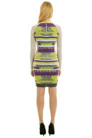 Knit It In Neon Dress by Matthew Williamson